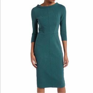 Boden Marissa Ottoman Ribbed Dress SZ 14R US